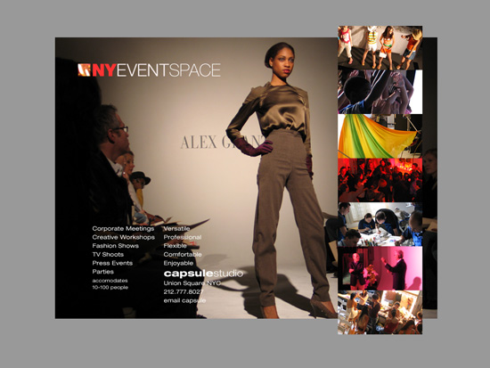New York Event Space web design 9