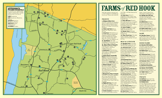 Red Hook Farms Farm Map