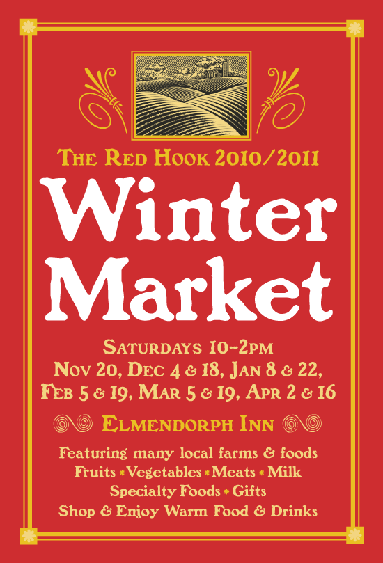 Red Hook Farms Poster design