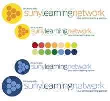 SUNY SLN new logo design